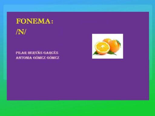 Fonema n by pilitoninas primitivas