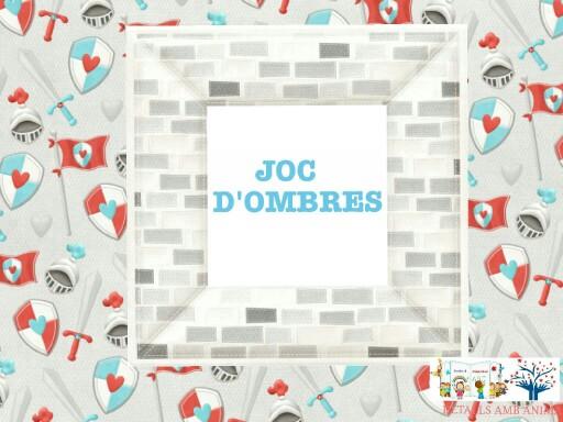 JOC D'OMBRES - CAVALLERS by Detalls amb ànima