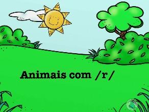 Animais com fonema /r/ by Fga. Camila Louzada