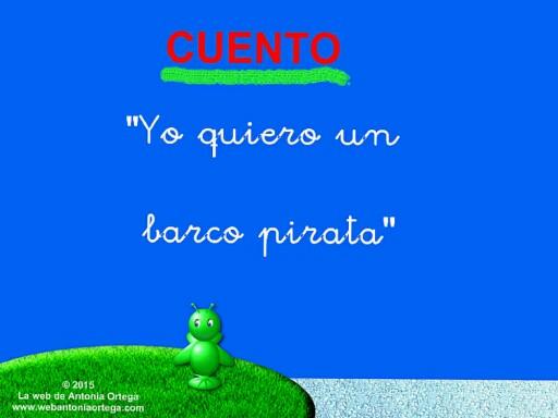 8 Leer B Y C CUENTO BARCO PIRATA by Antonia Ortega López