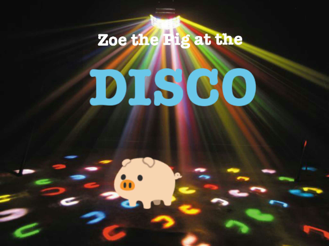 Zoe the Pig at the DISCO by Zoe the Pig