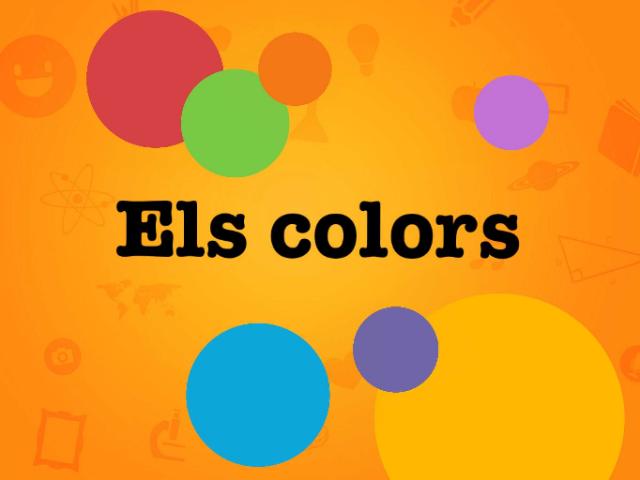 Els Colors (educació especial) by Eli Mateu