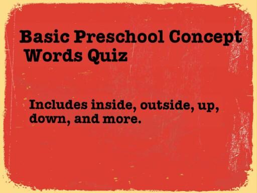 Basic Preschool Concepts by Heather Bates