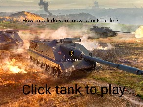 how much do you know about tanks? by Michael Maddox