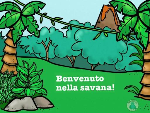 Benvenuto nella savana by CATERINA PUNTIERI