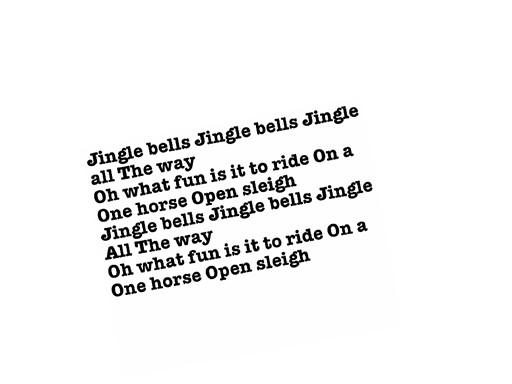 Jingle bells by Quark Tasche