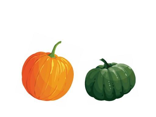 Green or orange by Joanna Apanasewicz