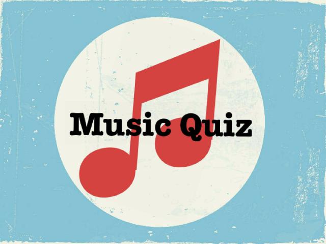 Music quiz  by Rea Diamond