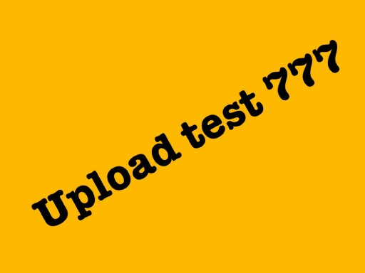 upload test game by Ran Stone