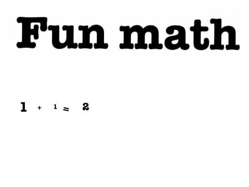 fun math by jessica desposito