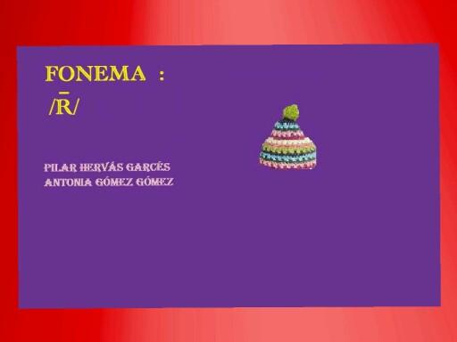 Fonema r fuerte by pilitoninas primitivas