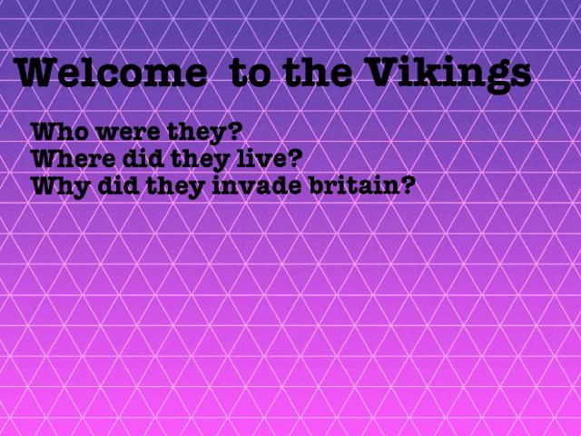 Vikings  by Brogan Freeman