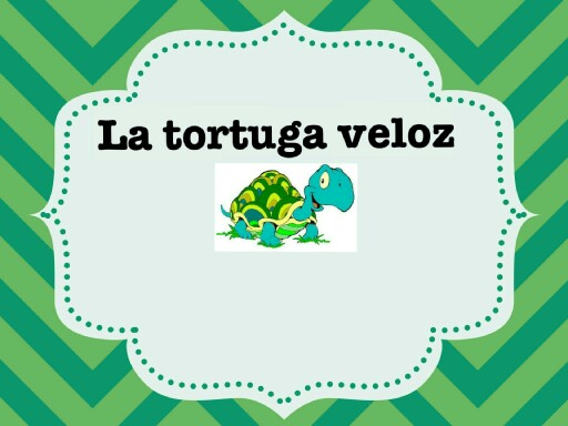 La tortuga veloz by carmen manzano