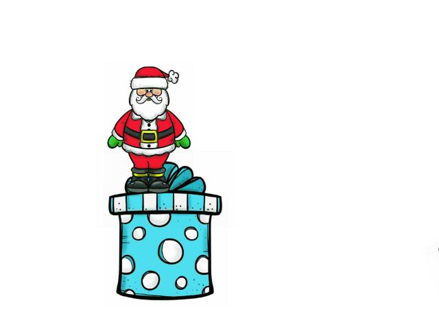Santa positions by Miriam Rabaza-Saunders