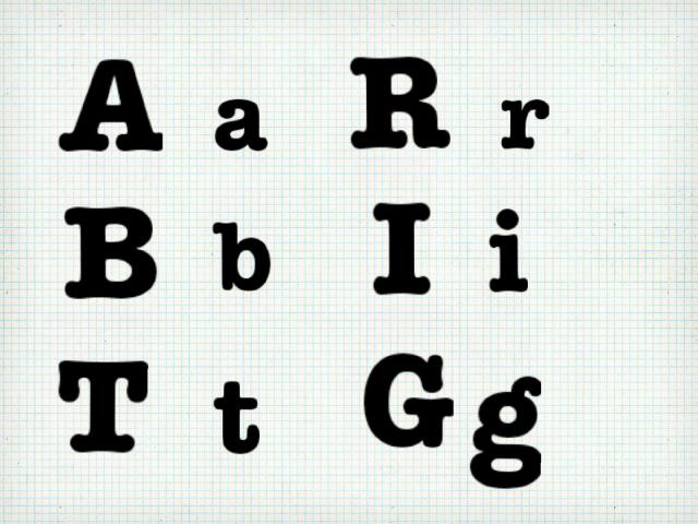Association lettres majuscules lettres minuscules  by Ecole Paillon