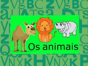 Escrevendo o nome dos animais by Jacilene Silva