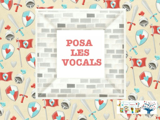 POSA LES VOCALS EN EL SEU LLOC -ST. JORDI by Detalls amb ànima