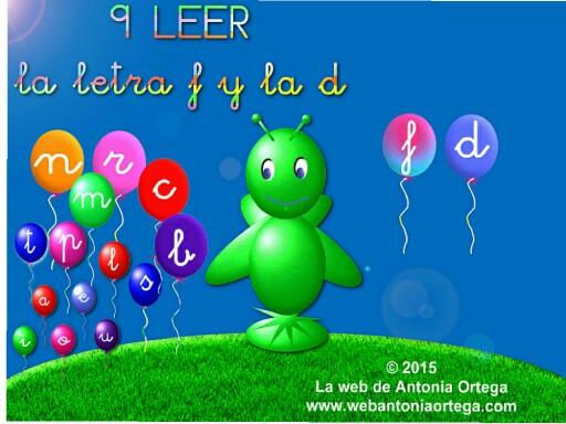 9 LEER F y D by Antonia Ortega López