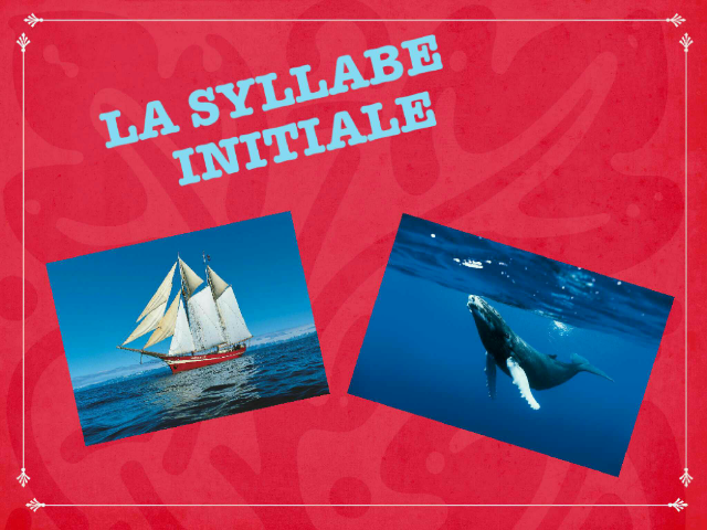 syllabe initiale  by ingrid mo