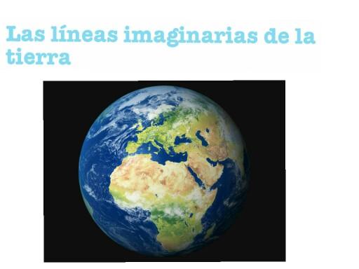líneas imaginarias de la Tierra by Julia Ramírez Zambrana