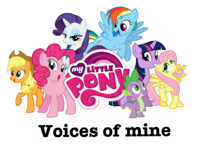 my little pony voices of mine + gahh game with story project by Pandji Caesar