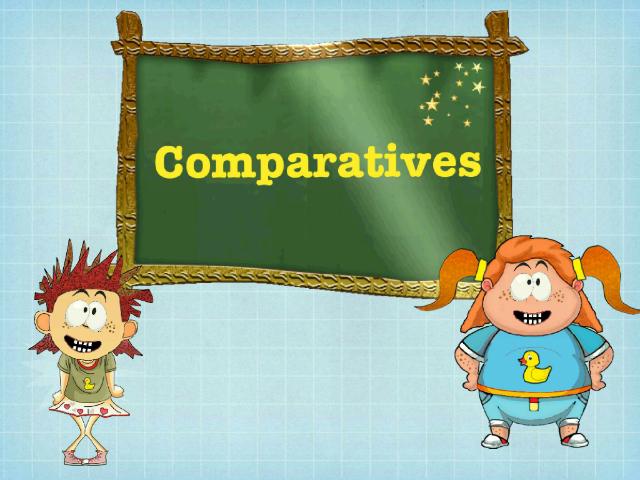 درس المقارنة باللغة الانكليزية by rasha ALKAMSH