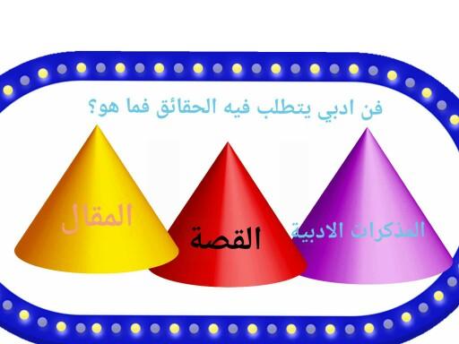 لعبةاسألة تفاعلية by غادة محمد