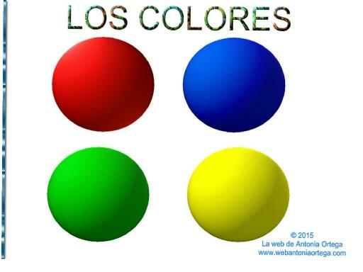 LOS COLORES by Antonia Ortega López