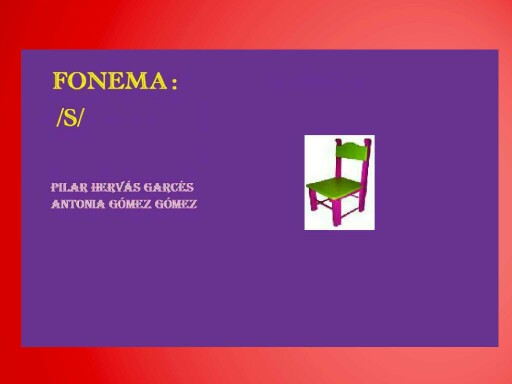 Fonema s by pilitoninas primitivas