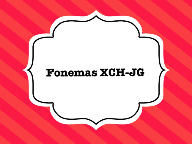 Fonemas CHXJG  by Flávia Nascimento