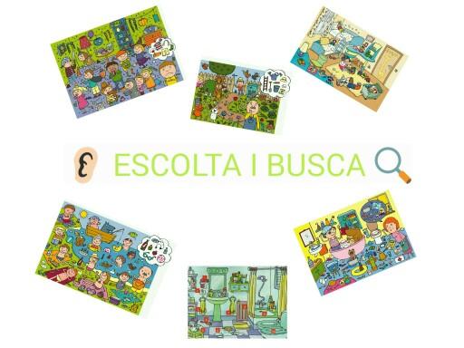 ESCOLTA I BUSCA by Gemma Babot