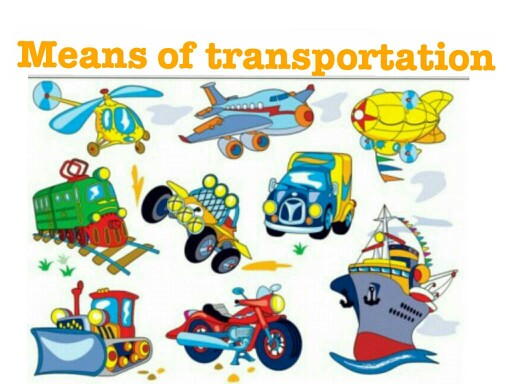 Kids- Transportation by CTJ Online