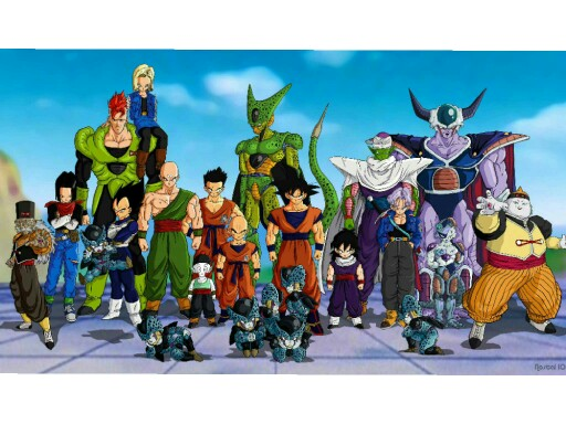 Dragon Ball Z by Lucie Ed