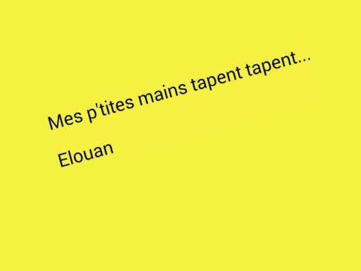 SRA Mes ptites mains by Serge Salvat