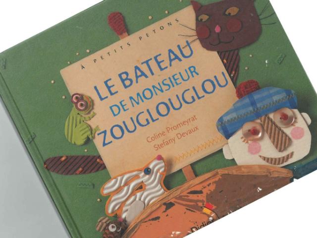 Le bateau de Monsieur Zouglouglou by Murielle Ducroo