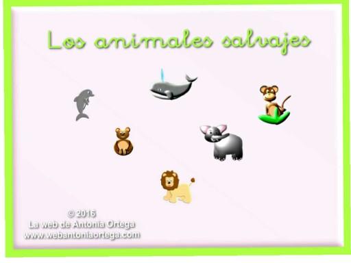 Los animales salvajes by Antonia Ortega López