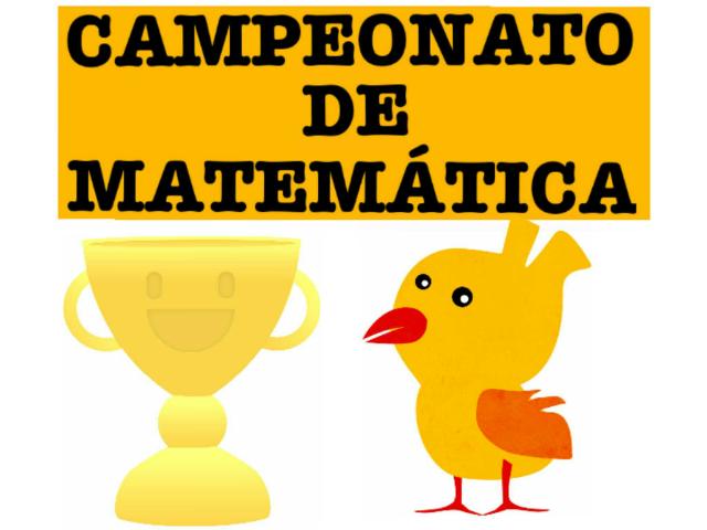 CAMPEONATO DE MATEMÁTICA by Tobrincando Ufrj