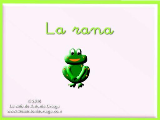 1. La rana by Antonia Ortega López