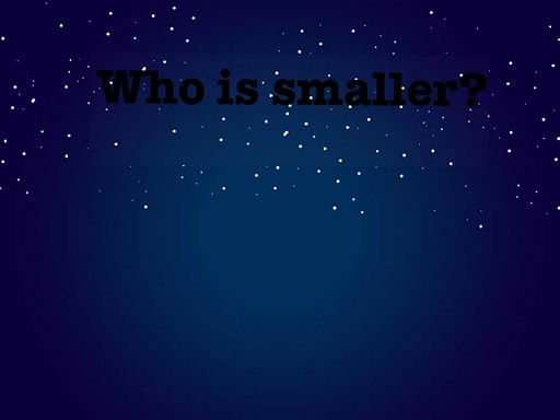 who is smaller by scarlet escolano