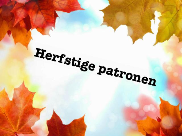 herfstige patronen 2 by Febe Latruwe