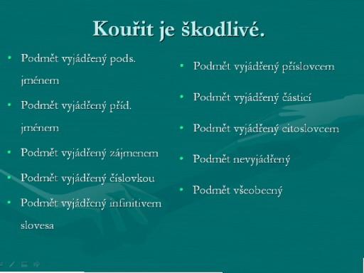 Podmět by Ludmila Kovaříková