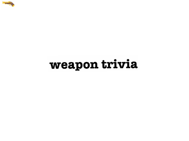 weapon trivia by Mega  Charizard X
