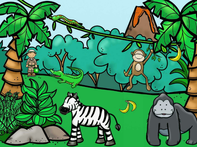 Puzzle jungle  by Marion Cuenot
