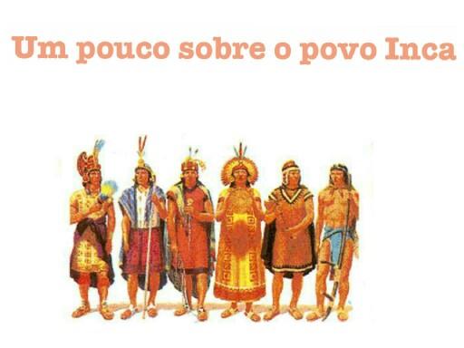 inca,um povo guerreiro by Laura Silva