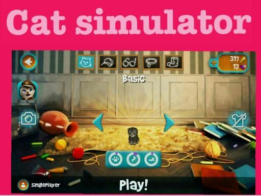 cat simulator puzzel by Tiny Steverink