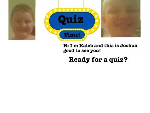 2nd Grade Quiz Game by Tina Brigman