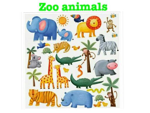 Kids-Zoo Animals by CTJ Online