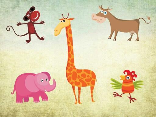 חיות חווה וחיות בר by Hannah Eldin