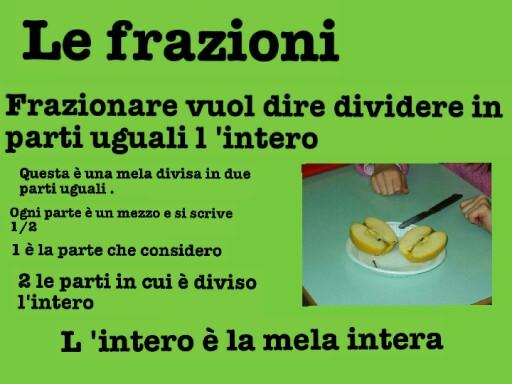 le frazioni by Barbara Mantovani