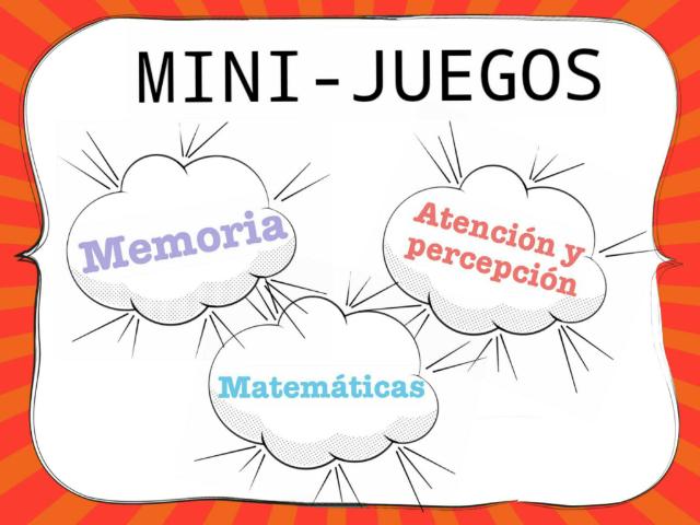 MINI-JUEGOS  by Carla Alfaro